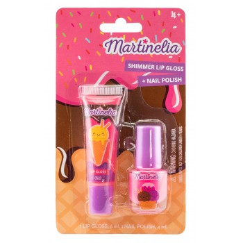 Yummy Beauty Duo  1 lipgloss + 1 nagellak   12 CE