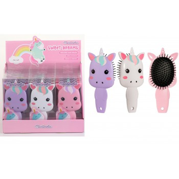 Haarborstel Unicorn Sweet Dreams 85 ml | 12 CE assorti / display