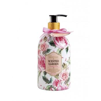 SCENTED GARDEN Hand & bodylotion Rose pompflacon 500 ml