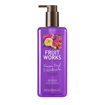 FRUITWORKS Passion Fruit & Watermelon Hand Wash   500 ml