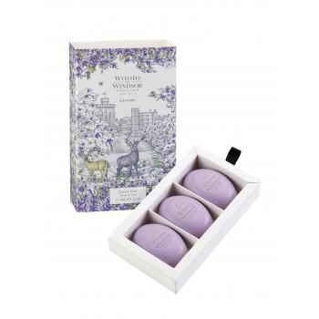 Lavender English Soap | 3 x 60 gr
